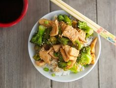 Chinese Chicken and Broccoli (Low Carb & Gluten-Free) Fmd phase 1 (sub oil for broth) or phase 3