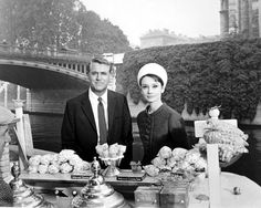 #vintage everyday: Ice Cream with Carey Grant and Audrey Hepburn