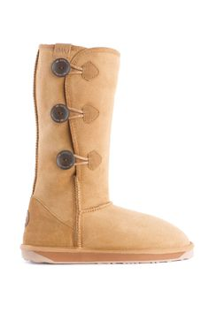 Emu Australia Coombell Flat Boots In Chestnut - Beyond the Rack