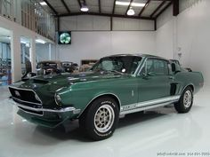 DANIEL SCHMITT & CO PRESENTS: 1968 FORD #SHELBY GT350 HERTZ    www.schmitt.com  314.291.7000 #classiccars