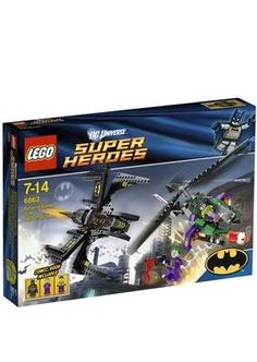 LEGO SUPERHEROES BATWING OVER GOTHAM CITY