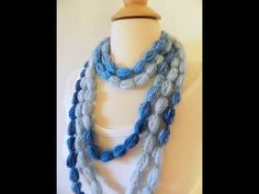 Easy Crochet Necklace - YouTube