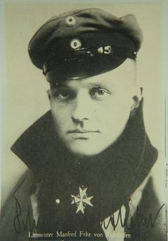 Manfred Albrecht Freiherr von Richthofen (aka The Red Baron)