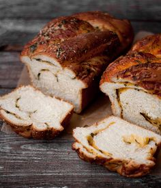 soft cheese bread, two ways.