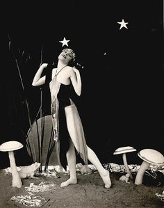 Flapper & Mushrooms