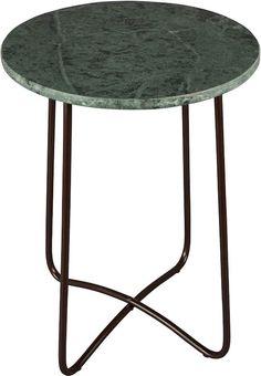 Dutchbone Emerald - Bijzettafel - Groen Decor, Furniture, Green Interiors, House, Interior, Side Table, Table, Home Decor