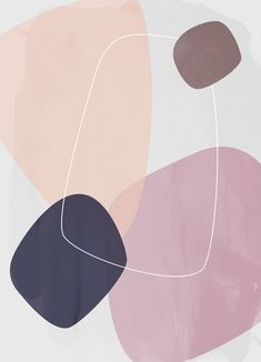 Graphic 185 Throw Pillow by Mareike BAPhmer - Cover x with pillow insert - Indoor Pillow Abstract Iphone Wallpaper, Graphic Wallpaper, Iphone Background Wallpaper, Aesthetic Iphone Wallpaper, Aesthetic Wallpapers, Pastel Wallpaper Backgrounds, Abstract Shapes, Geometric Art, Abstract Pattern