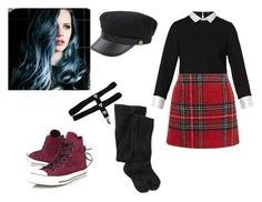 """Aine"" by coffeeismysoul ❤ liked on Polyvore featuring Converse, Maje, New Look and Smartwool"