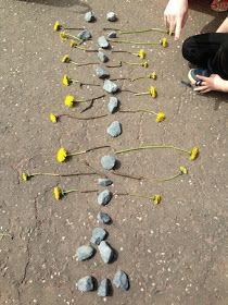 """I'm a teacher, get me OUTSIDE here!: 20 Something Maths Pictures... making pictures with '20' collected items ("""",)"""