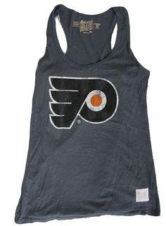 IN STOCK! Vintage Philadelphia Flyers Hockey Ladies Slub Tank Top!