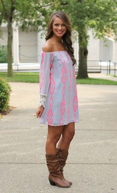 The Pink Lily Boutique - Arrow To My Heart Dress, $40.00 (http://www.thepinklilyboutique.com/arrow-to-my-heart-dress/)