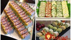 Už nepotrebujete hľadať nič iné: 33 najlepších receptov na rýchle pohostenie pre vaše návštevy! Sushi, Party, Cooking, Ethnic Recipes, Food, Holidays, Basket, Kitchen, Holidays Events
