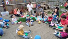 Eating outdoors is a great adventure for little ones