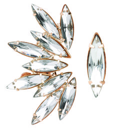 Orecchino con maxi cristalli, Accessorize  -cosmopolitan.it