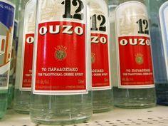 A bebida Ouzo é um dos símbolos da cultura grega