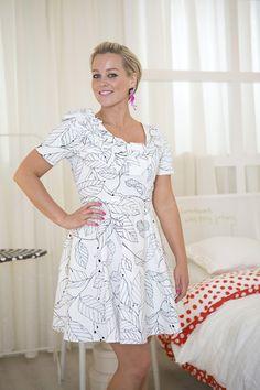 Hanne Sørvaag i unik IKEA-kjole | Tekstileriet | LIVET HJEMME