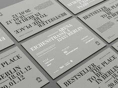 Bestseller Berlin Fashion Fair 2012 identity from DesignUnit.