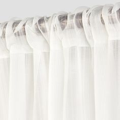 Textured Sheer Curtain Panel White - Room Essentials™ - image 2 of 2 Curtain Texture, Sheer Curtain Panels, Sheer Curtains, Panel Curtains, Bedroom Curtains, Cute Curtains, Rustic Curtains, Target Curtains, All Of The Lights