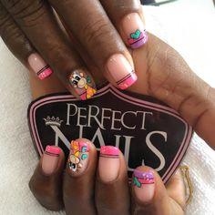 Paola Espinosa, Happy Nails, Maria Jose, Nail Art, Instagram Posts, Design, Classy Nails, Polish Nails, Kawaii Nails