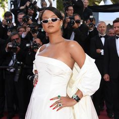 Rihanna at Cannes 2017 in the Rhianna Loves Chopard High Jewellery collection