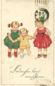 Vintage Mother's Day Cards - high quality (much better than on the pinned pic)