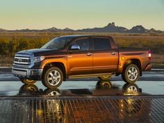 The 2016 Toyota Tundra has authentic truck talent, but ultimately its powertrain choices, fuel economy, and configurations are limited, compared to domestic rivals. Find out why the 2016 Toyota Tundra is rated by The Car Connection experts. 2014 Toyota Tundra, Toyota Tundra 1794 Edition, Toyota Tundra Crewmax, 2014 Tundra, Mercedes Benz 300, Toyota Trucks, Toyota Cars, Toyota 4x4, Kawasaki Ninja