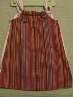 Daddy's Button Shirt - toddler dress - sold Ft. Lauderdale