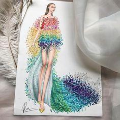 Fashion Illustration Face, Fashion Illustration Tutorial, Dress Illustration, Fashion Figure Drawing, Fashion Drawing Dresses, Fashion Design Drawings, Fashion Sketches, Fashion Design Template, Dress Sketches