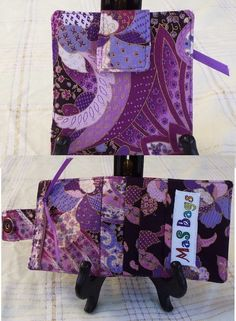 #ligthweigthcottonwallet #colorful selectons # many slots # zipperedpocket # http://www.zibbet.com/masbags
