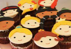 Cupcake das princesas