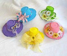 Sombreritos para las madres ~ Portal de Manualidades