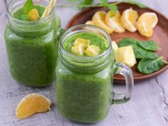 Smoothie. Przepisy na odchudzające koktajle owocowe i warzywne - Pieknowdomu.pl Pickles, Cantaloupe, Cucumber, Smoothies, Cooking Recipes, Fruit, Breakfast, Fitness, Food And Drinks