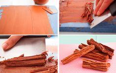 Cómo hacer chocolate en rama paso a paso