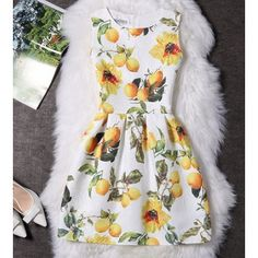 Gender: WomenBrand Name: AmezaikuDresses Length: Above Knee, MiniSleeve Style: TankSilhouette: A-LineSleeve Length(cm): SleevelessSeason: SummerStyle: CasualMat Green Banana, Vintage Floral, Vintage Dresses, Dresses With Sleeves, Long Sleeve, Black, Style, Products, Fashion