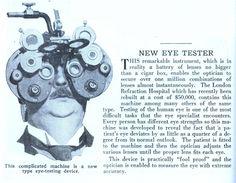Eye tester= Phoropter