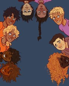 The Seven plus Reyna and Nico