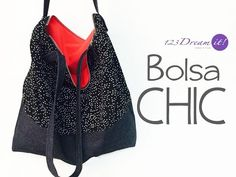 DIY - Fabric Handbag - Bolso en Tela by Minauri ( How to / Hazlo tú ) - YouTube