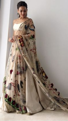 3676 best ethnic fashion images in 2019 Lehenga Anarkali, Lehnga Dress, Indian Lehenga, Indian Gowns, Indian Attire, Indian Ethnic Wear, Ghagra Choli, Sabyasachi, Indian Wedding Outfits