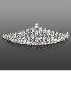 Headpieces Headpieces (Attractive Clear Crystals Wedding Bridal Tiara 042005469)