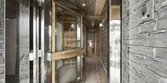 Look at that Bathroom...Stylish Hi-Tech Ski Chalet In The French Alps | DigsDigs