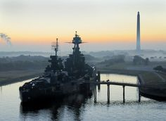 Battleship TEXAS, the first battleship memorial museum in the United States    Location: Houston, TX (since 1948)