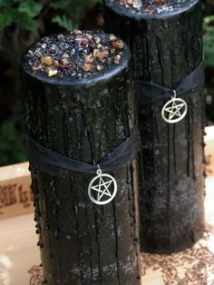 Witches Magick Alchemy Pillar 3x9 . Sacred by WhiteMagickAlchemy