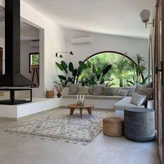 Dream Home Design, My Dream Home, Home Interior Design, Interior Architecture, Interior And Exterior, Interior Decorating, House Design, Home Living Room, Living Room Designs