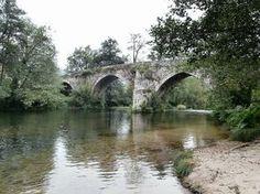 1000 Lugares en Galicia: Paseo por el Río Tea, en Mondariz. Playa Fluvial d...