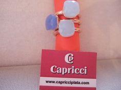 Anillos de plata 925m. www.capricciplata.com www.facebook.com/capricci.plata1.