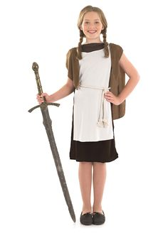 Viking Girl childrens dress up costume by Fun Shack