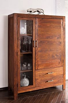 wooden bathroom cabinet buffet 1995 - Bathroom Cabinets Kerala