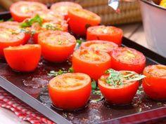 Tomates a la chapa