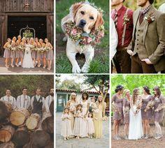 The Rustic Wedding – Part I - The Rustic Wedding Party