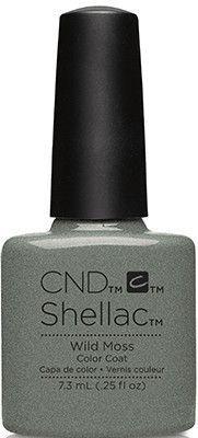 CND - Shellac Wild Moss (0.25 oz)